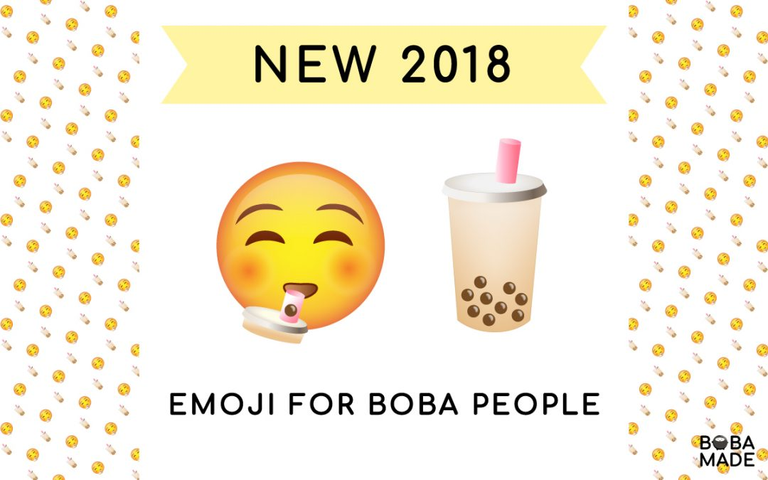 World Emoji Day – Boba Tea Please