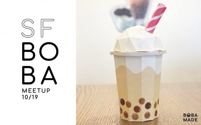 SF Origami Boba Tea Meet-up